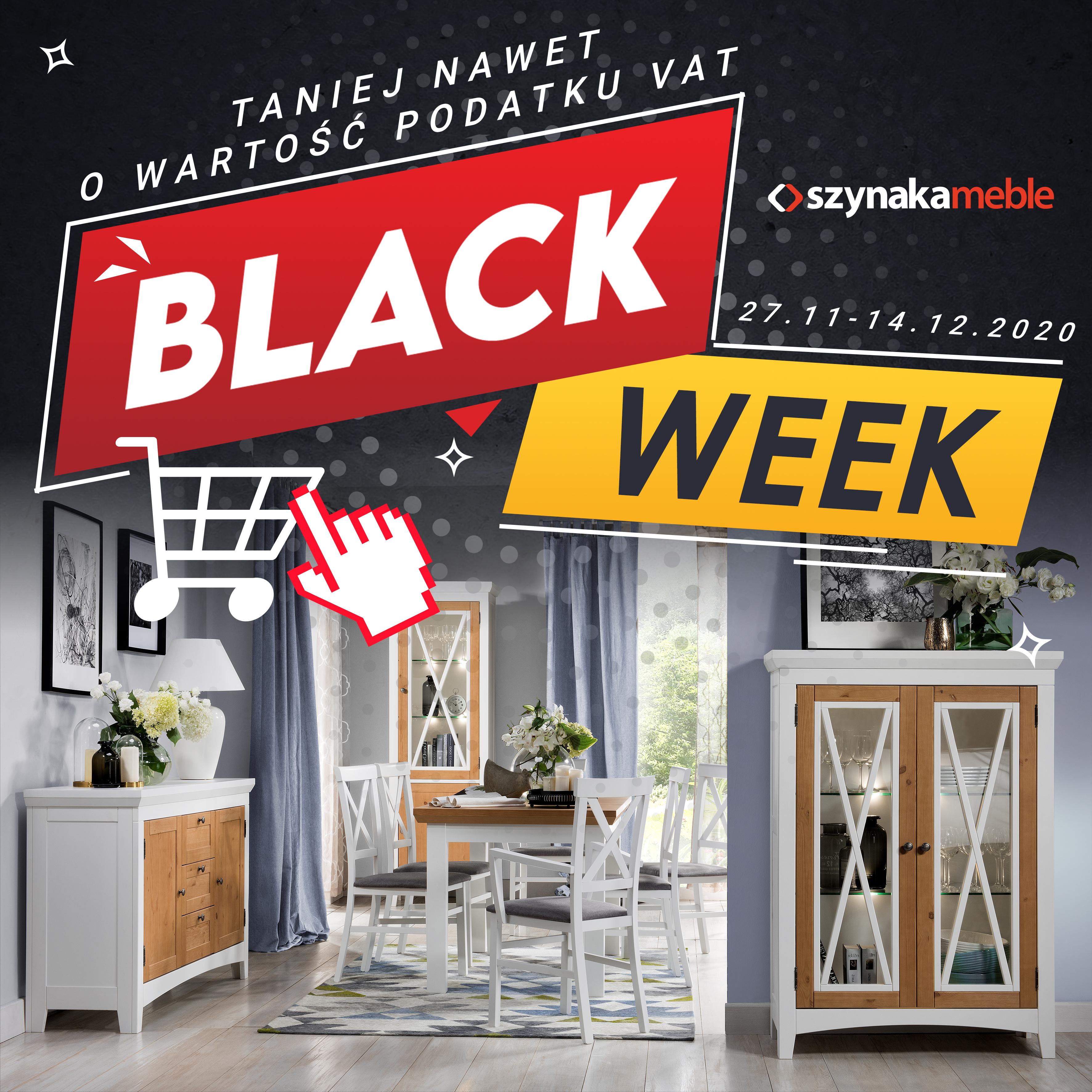 szynaka black WEEK